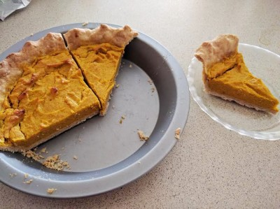 non-sugar-pumpkin-pie