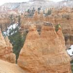 芸術的な岩の群れ