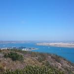 カブリヨ半島のポイントローマ岬