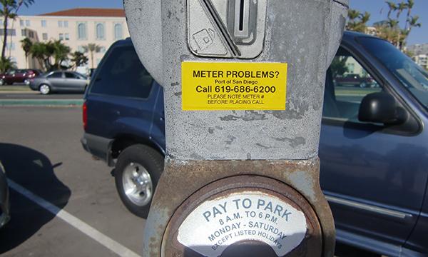 駐車違反?