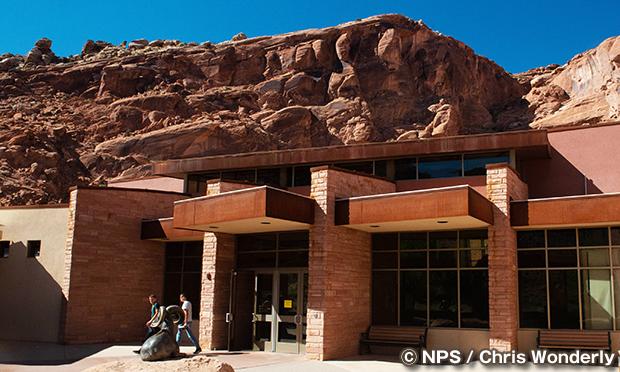 アーチーズ・ビジターセンター Arches Visitor Center