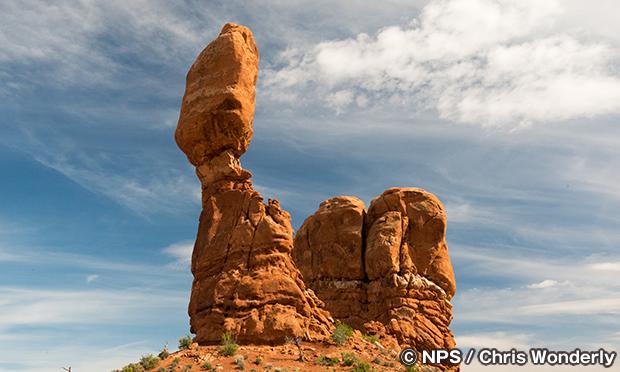 バランスロック Balanced Rock