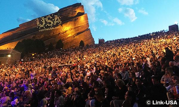 レッドロックス野外劇場 Red Rocks Amphitheatre