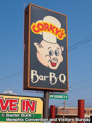 コーキーズ リブ&バーベキュー Corky's RIBS & BBQ