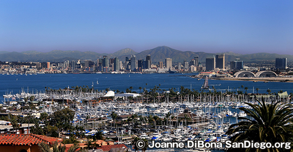 サンディエゴのダウンタウン