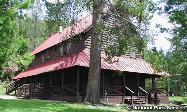 ドレイクスバッド・ゲストランチ  Drakesbad Guest Ranch