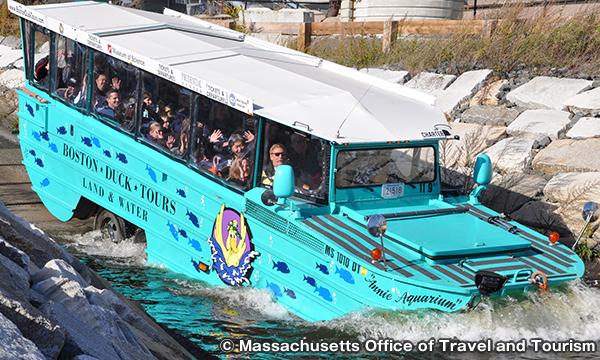 ボストンダックツアー Boston Duck Tours
