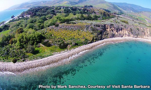エルキャピタン ステート ビーチ El Capitan State Beach