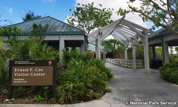 エバーグレーズ国立公園のビジターセンター
