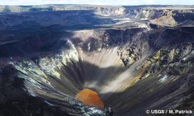 ハレマウマウ火口 Hale Ma'uma'u Volcano Crater
