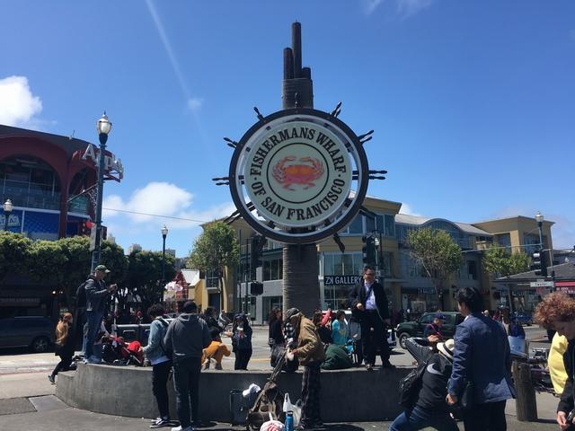 サンフランシスコ 乗り継ぎ時間を利用しての市内観光