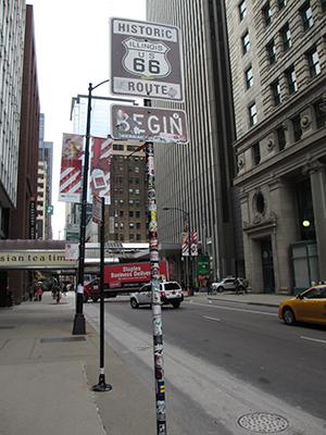 ルート66をレンタカーでドライブ シカゴの観光ポイント