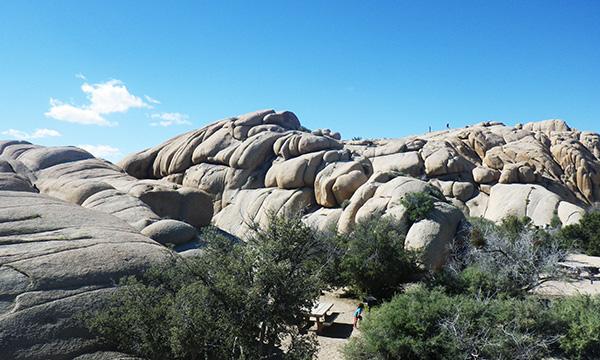 ジョシュアツリー国立公園の岩
