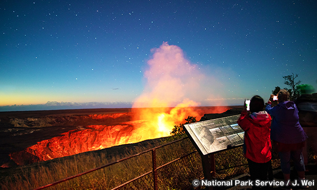 キラウエア展望台 Kilauea Overlook