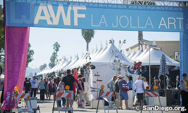 ラホヤ アート&ワイン フェスティバル La Jolla Art & Wine Festival