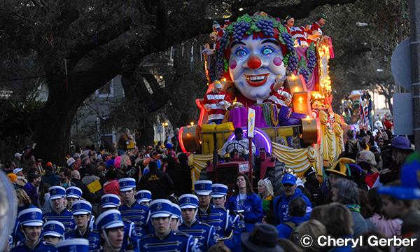 ニューオーリンズのカーニバル&フェスティバル