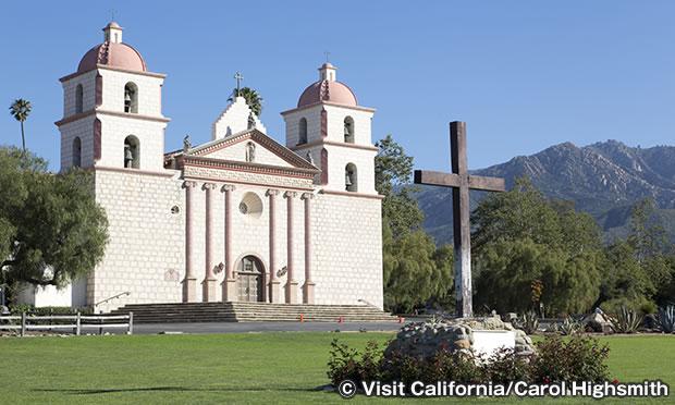 ミッション・サンタバーバラ Old Mission Santa Barbara