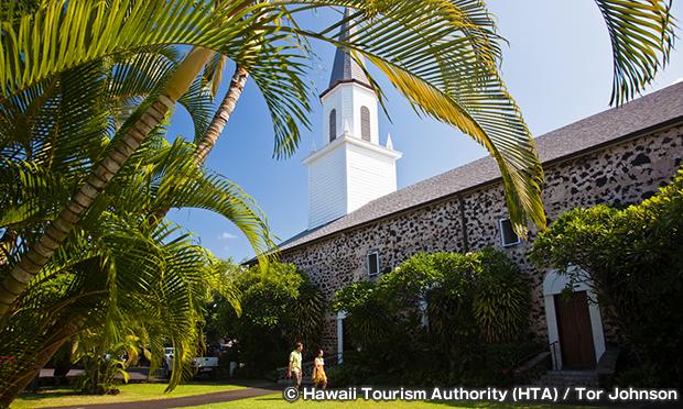 モクアイカウア教会 Moku`aikaua Church