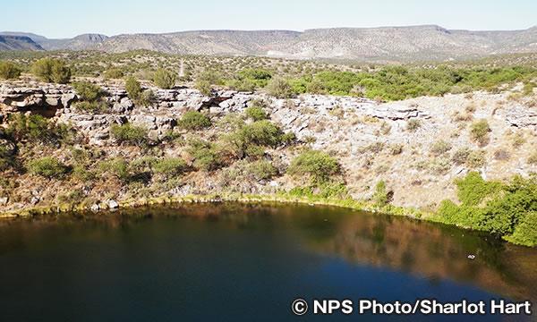 モンテズマ・ウェル国立モニュメント Montezuma Well National Monument