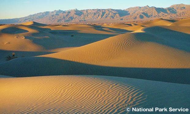 モスキートフラット砂丘 Mesquite Flat Sand Dunes