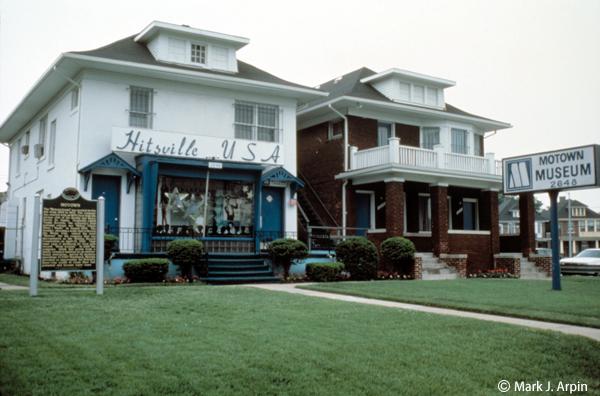 モータウン歴史博物館 Motown Museum