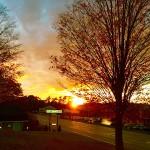 Gorgeous sunset ! ゴージャス サンセット!