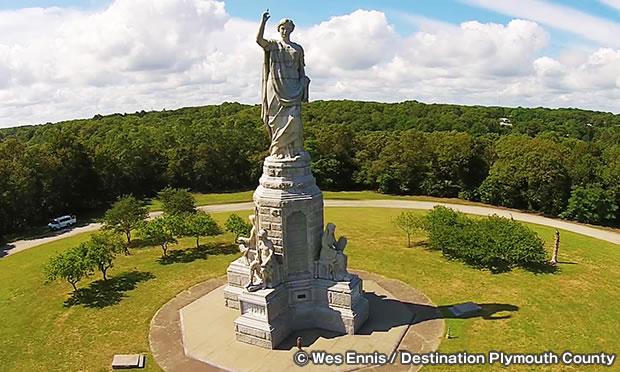 ナショナル・モニュメント・トゥ・ザ・フォァファーザズ National Monument to the Forefathers