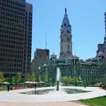 フィラデルフィア市庁舎とラブパーク