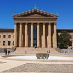 フィラデルフィア美術館とロッキー像