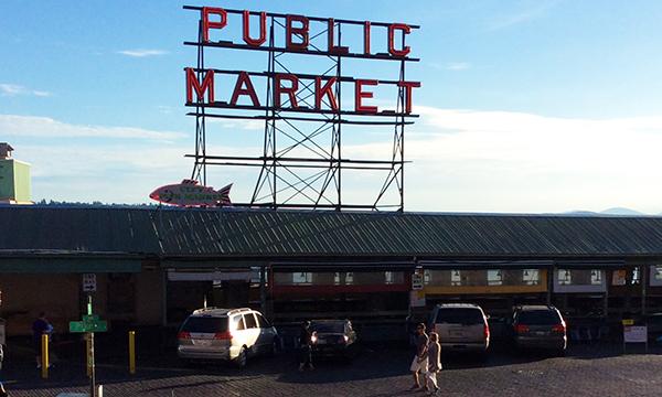 パイク プレイス マーケット Pike Place Market