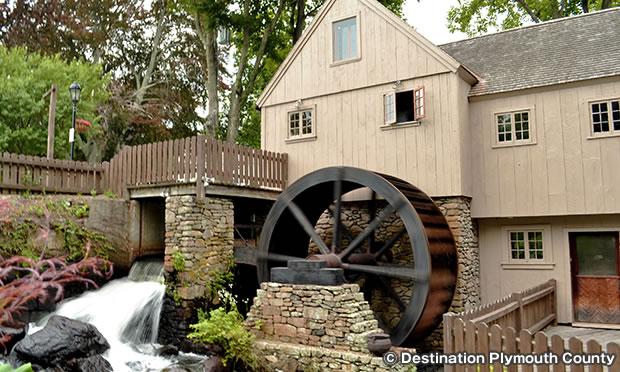 プリマス製粉所 Plimoth Grist Mill