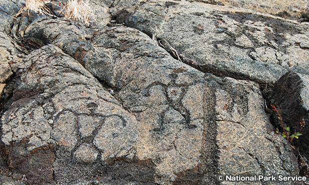 プウ ロア ペトログリフ Pu'u Loa Petroglyphs