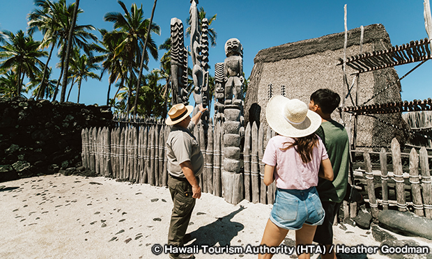 プウホヌア・オ・ホナウナウ国立歴史公園 Puuhonua o Honaunau National Historic Park
