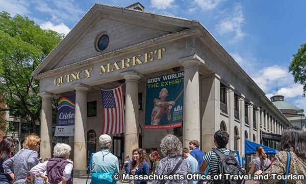 クインシーマーケット Quincy Market