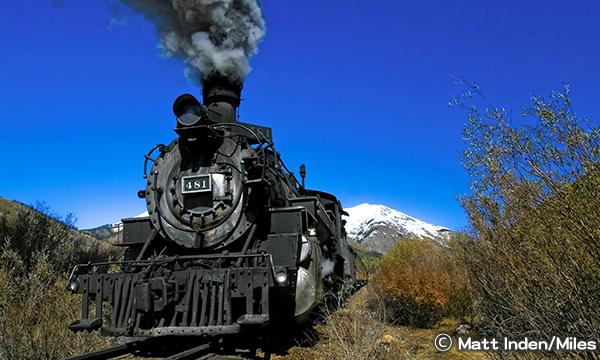 コロラドの人気鉄道
