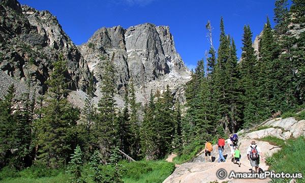 ロッキーマウンテン国立公園 ハイキング