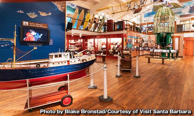 サンタバーバラ海上博物館 Santa Barbara Maritime Museum