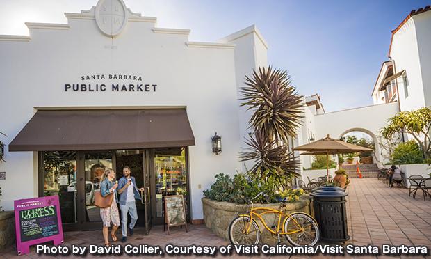 サンタバーバラ パブリックマーケット Santa Barbara Public Market