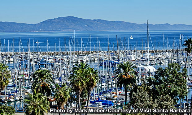 サンタバーバラ港 Santa Barbara Harbor