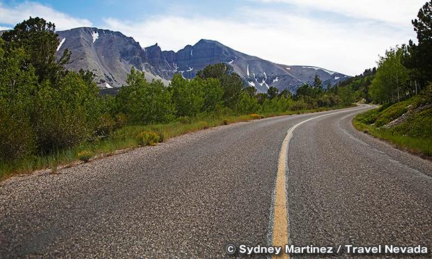 ホイーラー・ピーク・シニック・ドライブ Wheeler Peak Scenic Drive