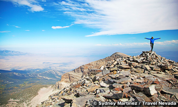 ホイーラー・ピーク・サミット・トレイル Wheeler Peak Summit Trail