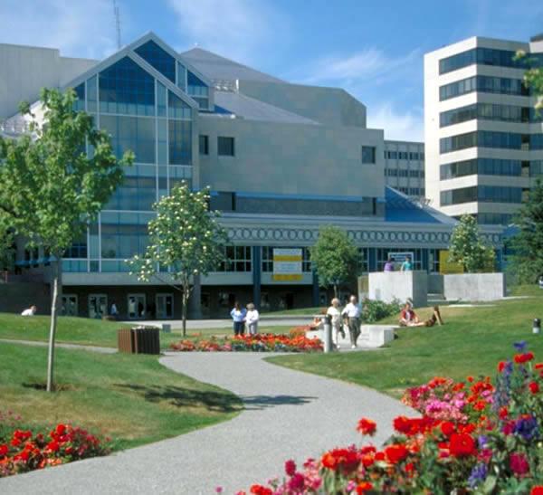 ゲートシティとなるアラスカ最大の都市アンカレジ Anchorage