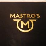 南カリフォルニアの旅 2016 Mastro's Restaurants