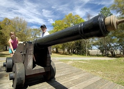 南北戦争開戦の地 サムター要塞