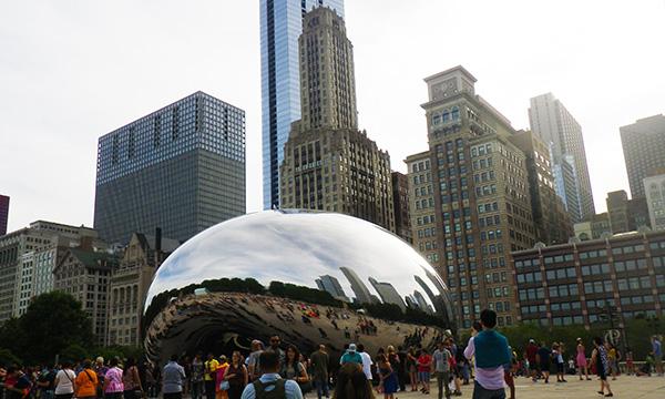 ちょこっとシカゴ 2016 ミレニアムパーク