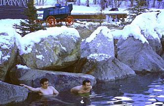 アラスカの温泉リゾート チナ温泉