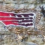 グレート リバー ロード イリノイ 2016 ピアサバードの壁画