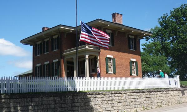 グレート リバー ロード イリノイ 2016 グラント大統領の家