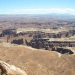 グリーンリバー展望台からの眺め