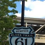 Memphis Blues Trail 61 のサイン